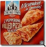 Chicago Town Filled Pizza Slices Pepperoni