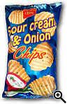 Crusti Croc Sour Cream & Onion Chips