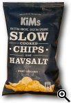 KiMs Slow Cooked Chips med Havsalt