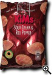 KiMs Sour Cream & Red Pepper