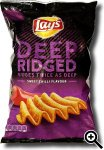 Lay's Deep Ridged Sweet Chilli Flavour