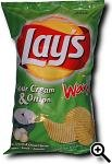 Lay's Wavy Sour Cream & Onion
